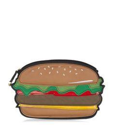 Pochette burger marron clair