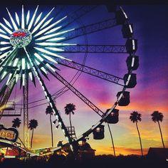 Coachella Sunset #FestivalBound