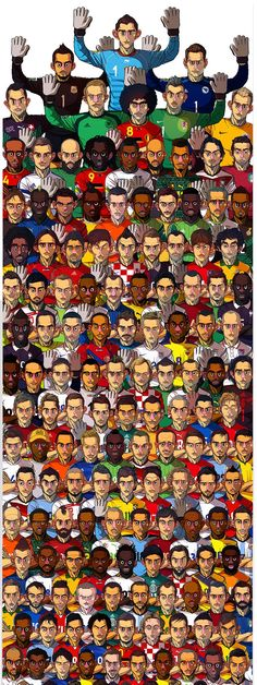 2014 Brazil World Cup 32 teams / Sakiroo Choi
