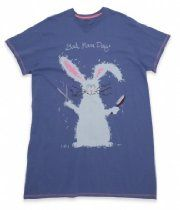 "Hatley Rabbit ""Bad Hare Day"" One Size Sleepshirt"