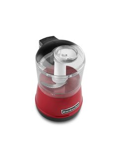 Make cooking a little easier with the KitchenAid Food Mini Chopper. It's the perfect size for creating a dinner for one or two.