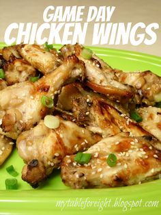 Game Day Chicken Wings on MyRecipeMagic.com
