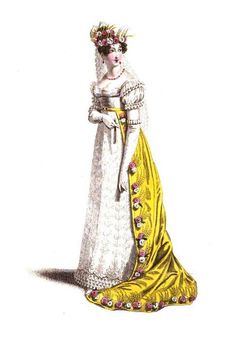 Dress of the Court of France. 1819