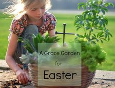 Come to the Easter Garden {A Christian Easter Family Activity}   ~AnnVoskamp.com