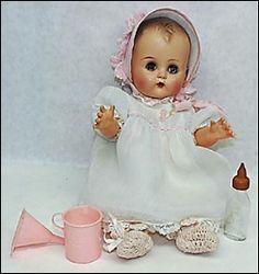 vintag doll, 1950s, toy, christmas presents, blondes, betsi wetsi, baby dolls, 5 years, wetsi doll