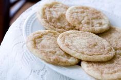 Soft Snickerdoodle Cookies.  Loved how these cookies turned out.