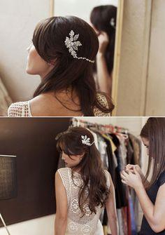 Love the hair accessories
