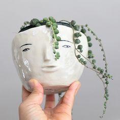 Face Pot by GusandRa