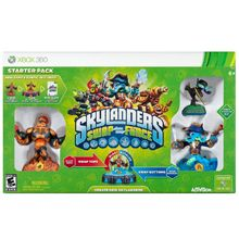 Skylanders SWAP Force Starter Kit for Xbox 360 with free Skylanders Lightcore Hex Figure Bundle