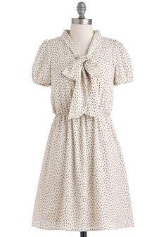 Ice cream anytime dress