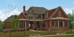 style hous, houses, red, hous plan, floor plans, dream hous, craftsman style, homes, house plans