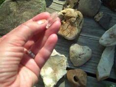 ▶ Holey Stones or Hag stones - YouTube holey stone, hag stone