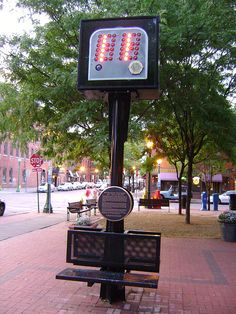 The 24-second shot clock, used in all NBA games, was invented by Danny Biasone, the late owner of the Syracuse Nationals basketball team. Following the 1953-54 season, he invented the clock to try and speed up the game and prevent teams from stalling. A monument is located in Armory Square in downtown Syracuse.