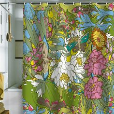 Butterflies Shower Curtain now featured on Fab.
