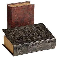 fake books to put more books in?