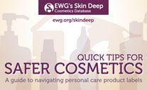 Learn about safer cosmetics