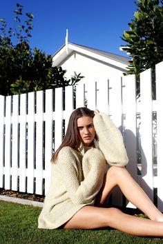 Australian model Liberty Bennett