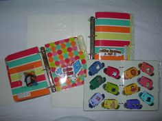 3 hole punch file folder games and keep them in notebooks - great idea!