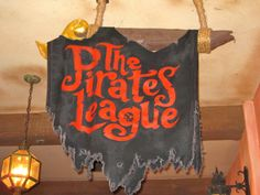 A Disney Mom's Thoughts: The Pirate's League at Magic Kingdom Park