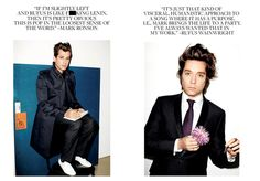 """""""It's pretty obvious this is pop in the loosest sense of the word."""" [Mark Ronson on Rufus Wainwright's Out of the Game]"""