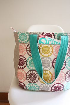 Super Tote Pattern, Noodlehead pattern coming soon