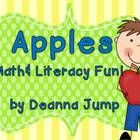 Apples! Math and Literacy Activities by Deanna Jump~This is a great resource to enhance your apple or fall unit.  This resource includes:*an adorable book for shared reading that has a fun ending *... grade sciencess, fall unit, appl unit, literacy activities, apples, teach kindergarten, kindergarten apple unit, first grade, bad apple activities