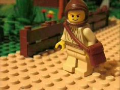 Parable of the Sower...What a great idea for using Lego!
