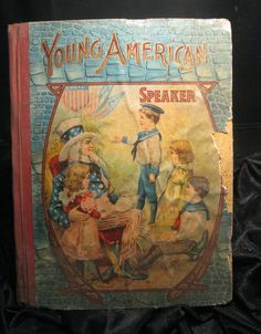 cir 1904  Young American Speaker  CHILDRENS by AlchemistPantry, $20.00