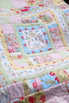 hand embroidery, pastel colours, baby quilts, diy crafts, soft colors, quilt patterns, soft pastels, vintage linen, embroidery designs