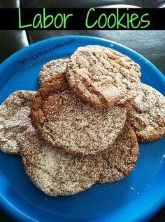 Labor Inducing Cookie #Recipe for #pregnant women via The Frugal Navy Wife