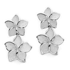 Tiffany & Co Double Flower Earrings