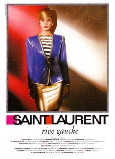 YSL Rive Gauche 1980s