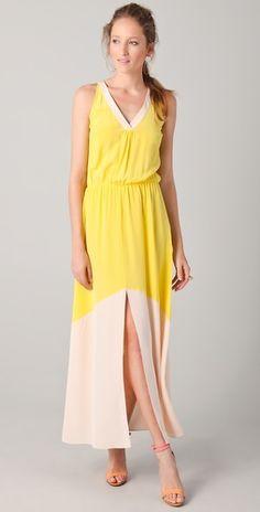color block dress / madison marcus