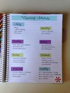 Cleaning schedule in EC planner