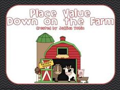 12 Farm Place Value activities