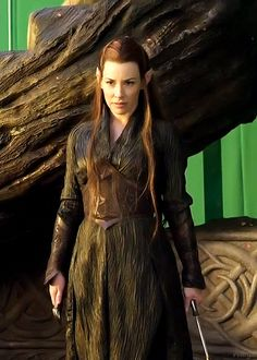 Tauriel (played by Evangeline Lilly) from The Hobbit.