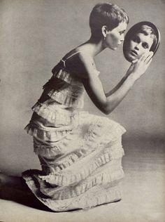 Richard Avedon - Mia Farrow, Vogue, 1966