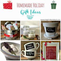 Homemade Holiday Gift Ideas