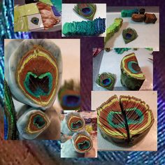 Peacock Feather Cane by Jill Palumbo - gracias a mis amigos - tuve exito, via Flickr
