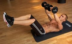 30 Minute Workout For Six Pack Abs and a Strong Core via Men's Fitness.