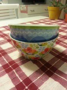 My pretty bowls
