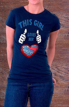 New York Rangers This Girl Loves Her NY Rangers by ZeeTeesApparel, $18.45