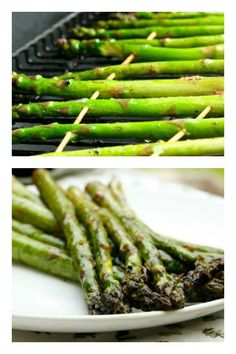Amazingly delicious and easy recipe for grilled asparagus.