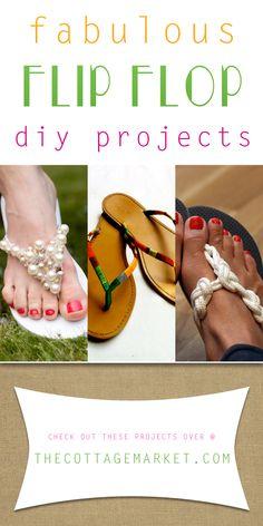 Fabulous Flip Flop DIY Projects - The Cottage Market