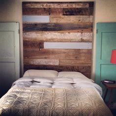 Reclaimed Wood Headboard (tall)