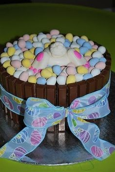 Another Kit Kat Easter Cake