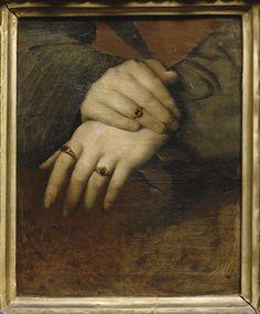 Étude de mains (detail), by Jean-Auguste-Dominique Ingres