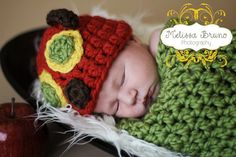 The Very Hungry Caterpillar Inspired Cocoon by TheCrochetElephant, $20.00