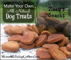 (For Bear) Homemade Dog Treats