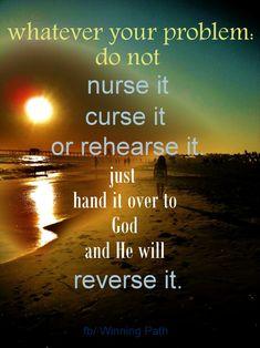 let God...